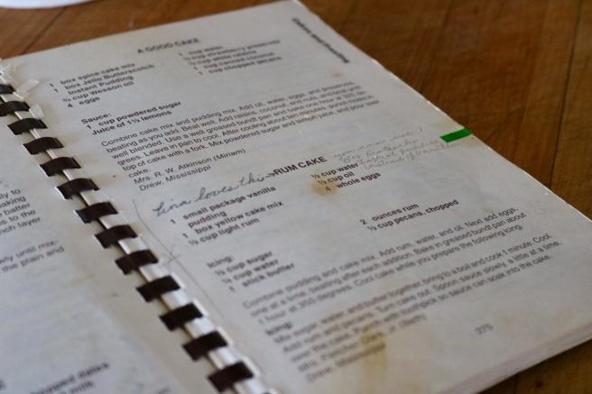 Pisatchio Rum Cake Cook Book