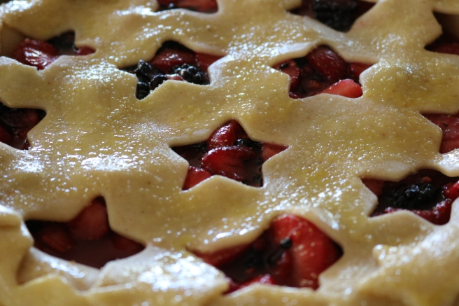 4th of July Star Pie Top